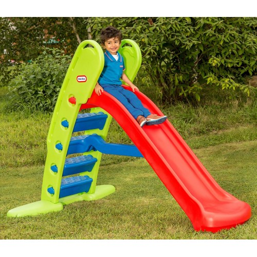 Little Tikes Τσουλήθρα Primary Easy Store Giant Red and Blue (172816)
