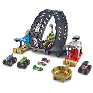 Hot Wheels Monster Trucks Σετ Παιχνιδιού Super Loop (GKY00)