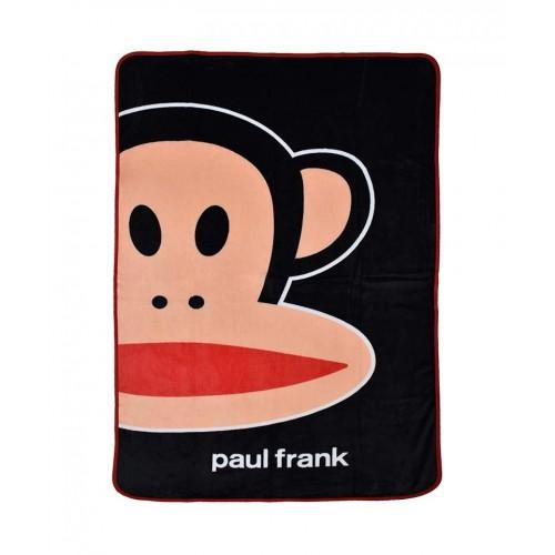 Κουβέρτα Paul Frank μαύρη 150x200εκ. (PF720012)