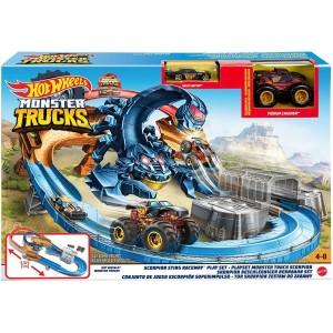 Hot Wheels Monster Trucks Πίστα Σκορπιός (GNB05)