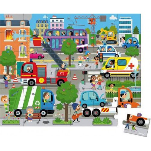 Puzzle 36τεμ Πόλη (02659)