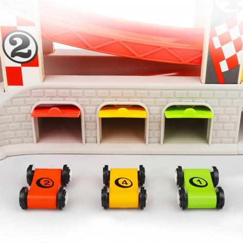 Top Bright Κατρακύλα Αυτοκινητόδρομος με 4 αυτοκίνητα (120402)