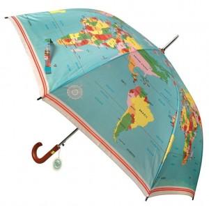 Ομπρέλα ενηλίκων Παγκόσμιος χάρτης (25051)