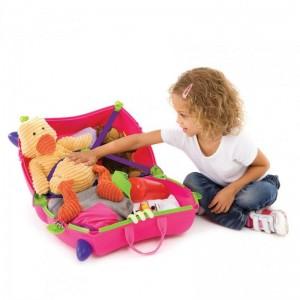 Βαλίτσα Trixie pink (0061)
