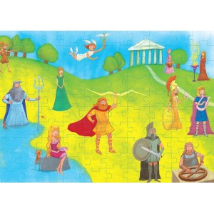 Puzzle 100τεμ Θεοί του Ολύμπου (505312)