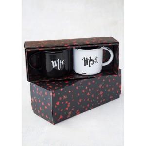 Κούπες Σετ2 Mr - Mrs (52815)