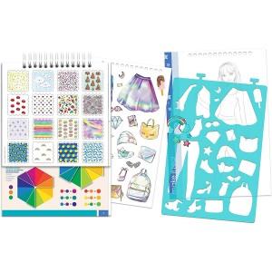 Make it Real - Digital Dream Fashion Design Sketchbook (3203)