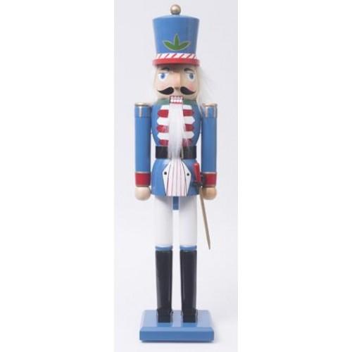 Καρυοθραύστης Δαπέδου Στρατιώτης μπλε 80εκ. (256563)