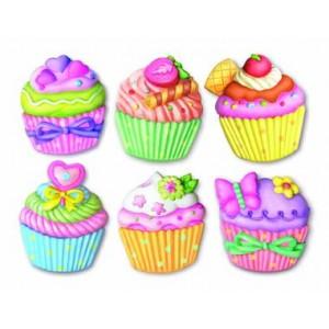 Κατασκευή Mαγνητάκια Cupcakes (4M0192)