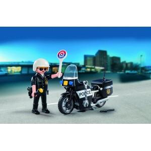 Βαλιτσάκι Αστυνόμος με μοτοσικλέτα (5648)