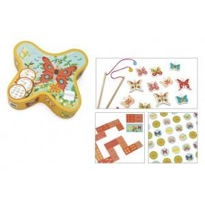 Scratch Τα 3 παιχνίδια της Πεταλούδας Ψαρέματα Domino Memory (6182028)