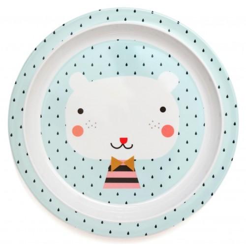 Πιάτο μελαμίνης Bear (MPB26)