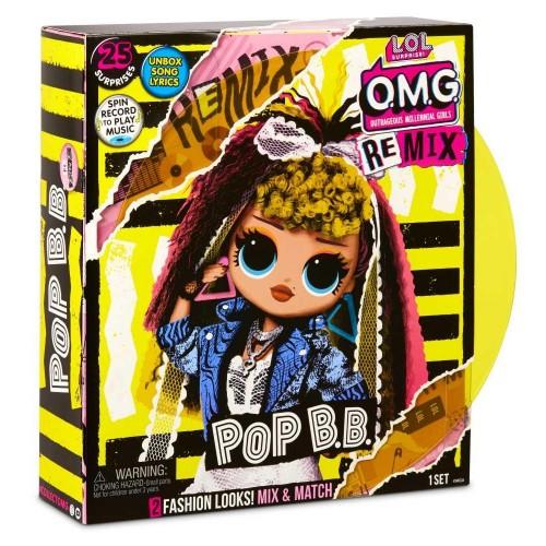 L.O.L. Surprise Κούκλα OMG Pop BB (LLUG1000)