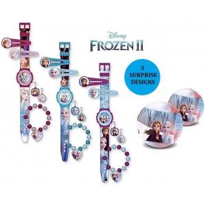 Μπάλα Έκπληξη Frozen Ρολόι και αξεσουάρ (WD20941)