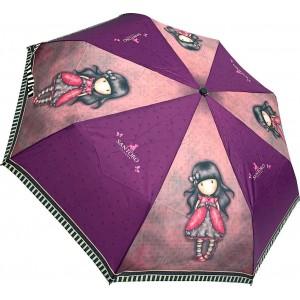Ομπρέλα σπαστή αυτόματη Santoro London Gorjuss Ladybird (6654)