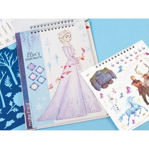 Make It Real Disney Frozen II Fashion Design Sketchbook (4207)