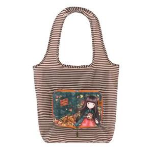 Τσάντα για ψώνια σε θήκη Santoro Gorjuss Autumn Leaves (308GJ25)