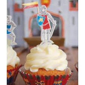 Σετ για cupcakes Ιππότες