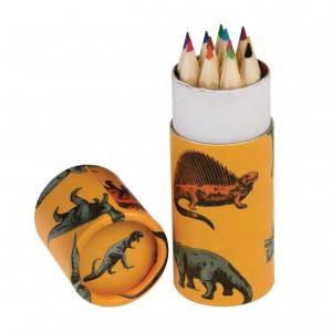 Σετ12 ξυλομπογιές σε κουτί Δεινόσαυροι (27708)