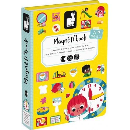 Βιβλίο Μαγνητικό Μαθαίνω την Ώρα (02724)