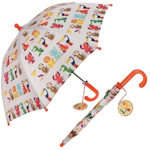Ομπρέλα Ζώα ζούγκλας