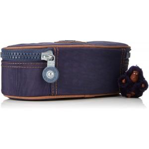 Βαρελάκι Kipling πλακέ Blue Tan Block (12908-30G)