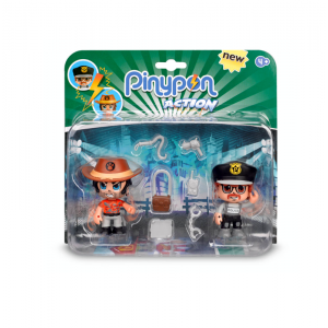 Pinypon Action Φιγούρα 2pack (700014492)