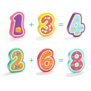 Top Bright Puzzle 16τεμ Ζώα και Αριθμοί (120325)