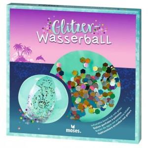 Μπάλα φουσκωτή με Glitter (M38077)