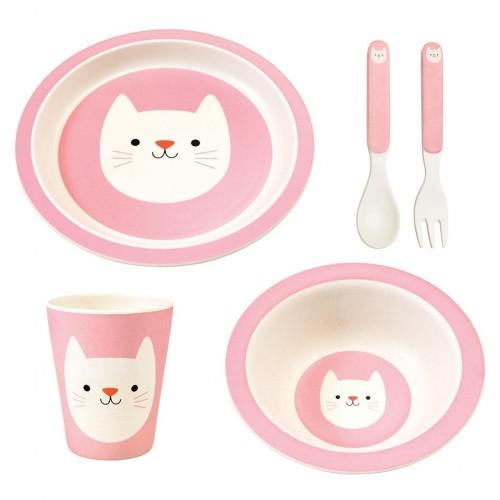 Σετ Φαγητού Bamboo Cookie the Cat (28264)