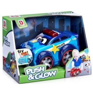 Bburago Junior Push & Glow Police Car (89004)