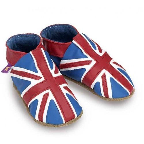 Παπουτσάκια bebe Union Jack blue