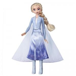 Κούκλα Elsa Frozen II Magical Swirling Adventure Light Up (E6952/E7000)