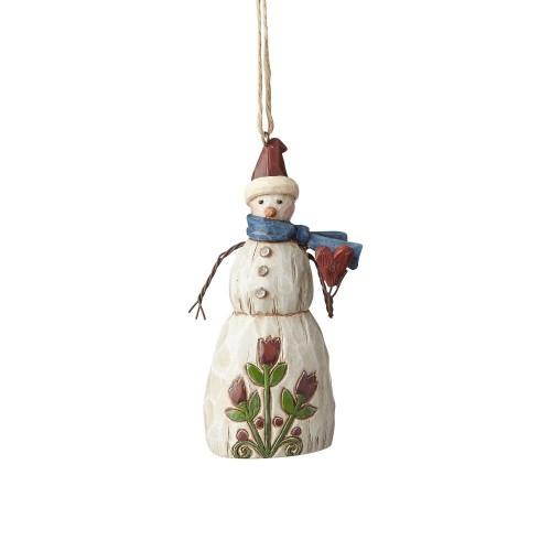 Στολίδι Χριστουγεννιάτικο Folklore Snowman with Heart (4058773)