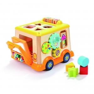 Top Bright Σχολικό Λεωφορείο με δραστηριότητες (150185)