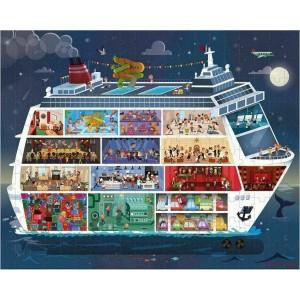 Puzzle 100 & 200 τεμ Κρουαζιερόπλοιο (02726)