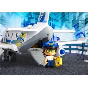 Pinypon Action Αεροπλάνο και 2 Φιγούρες (700015149)
