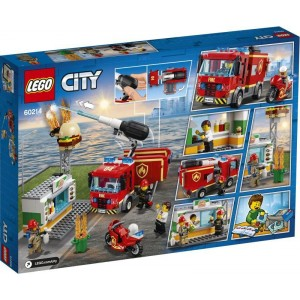 Lego City Burger Bar Fire Rescue (60214)