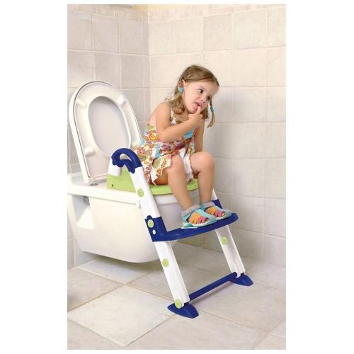Εκπαιδευτικό κάθισμα τουαλέτας 3 σε 1 μπλε
