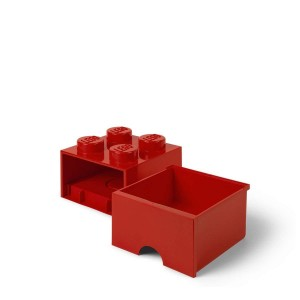 Παιχνιδόκουτο Lego 4 Red drawer (299121)