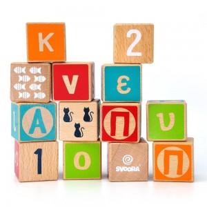 Κύβοι Γράμματα, Αριθμοί, Σχήματα Svoora (03020)