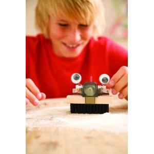 Κατασκευή Ρομπότ Βούρτσα (4M0123)