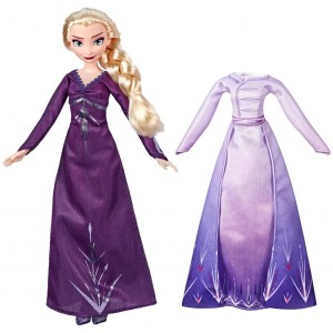Disney Frozen II Doll & Extra Fashion Elsa 28cm (E5500/E6907)