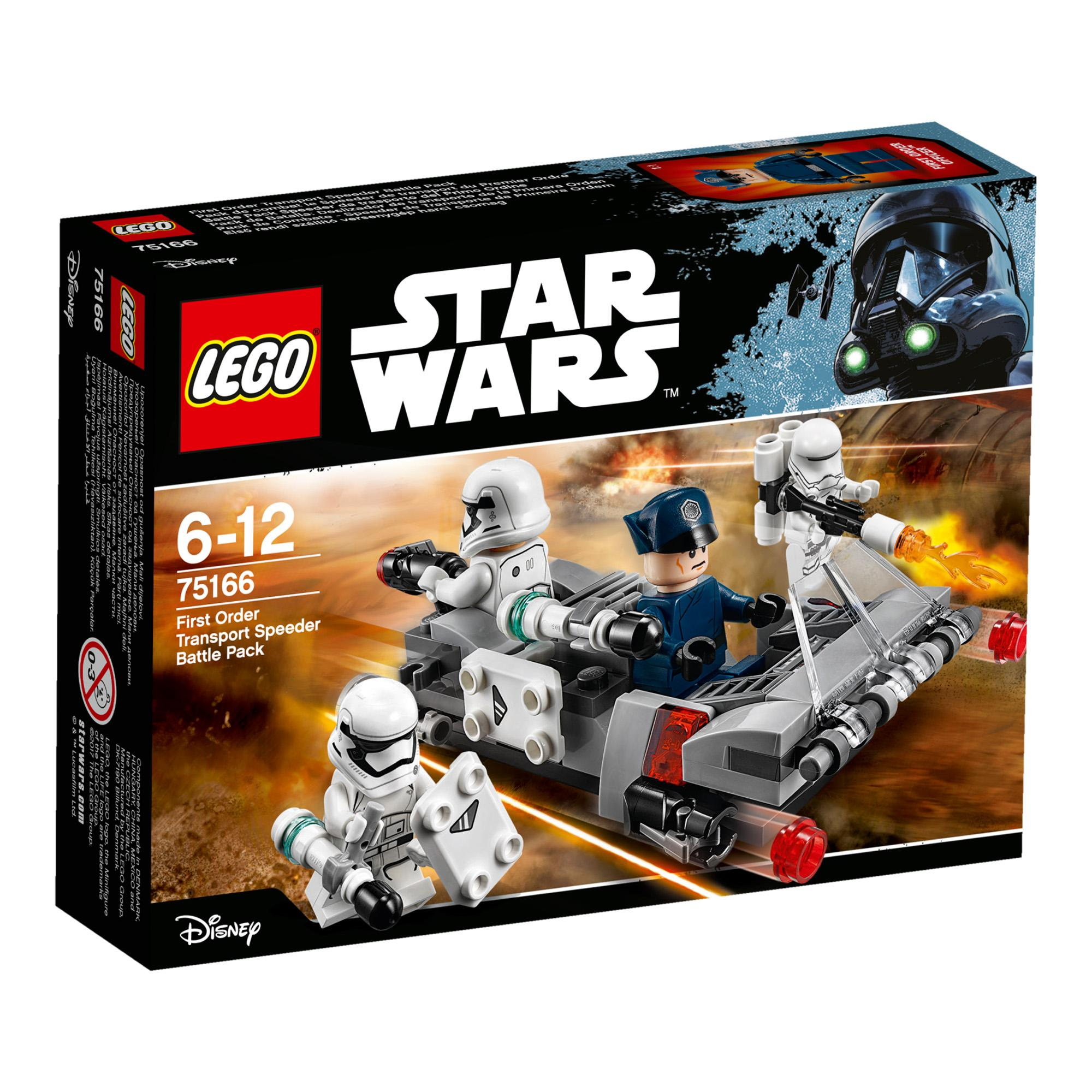 Lego Star Wars First Order Transport Speeder Battle Pac (75166)