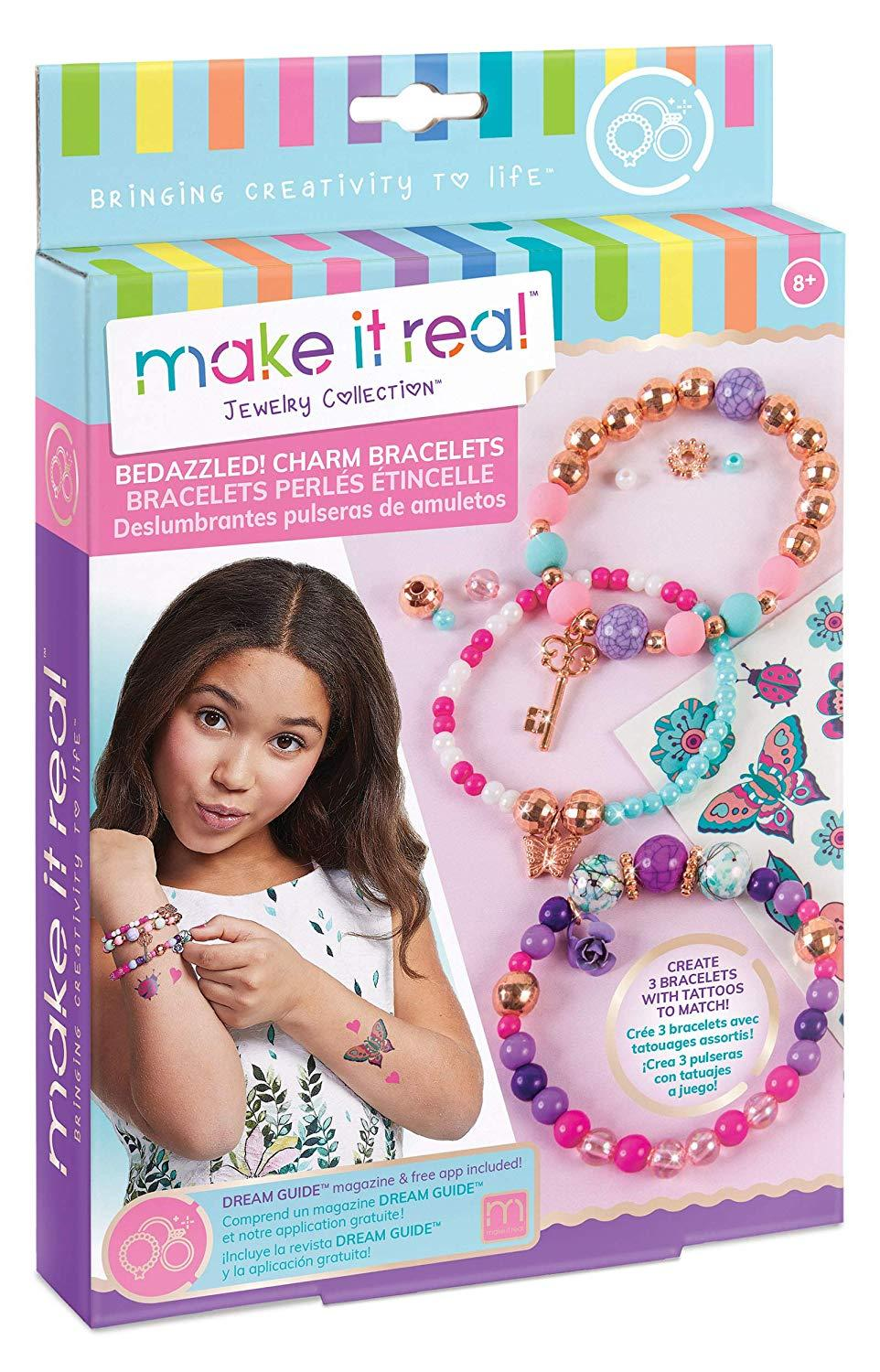 Make it real - Bedazzled! Charm Bracelets (1202)