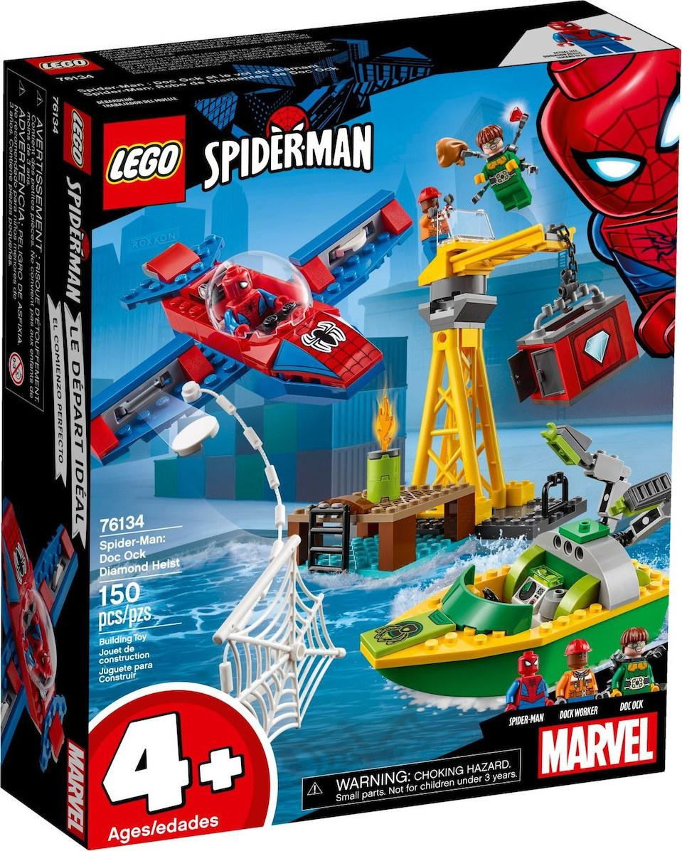 Lego Super Heroes Spider-Man: Doc Ock Diamond Heist (76134)