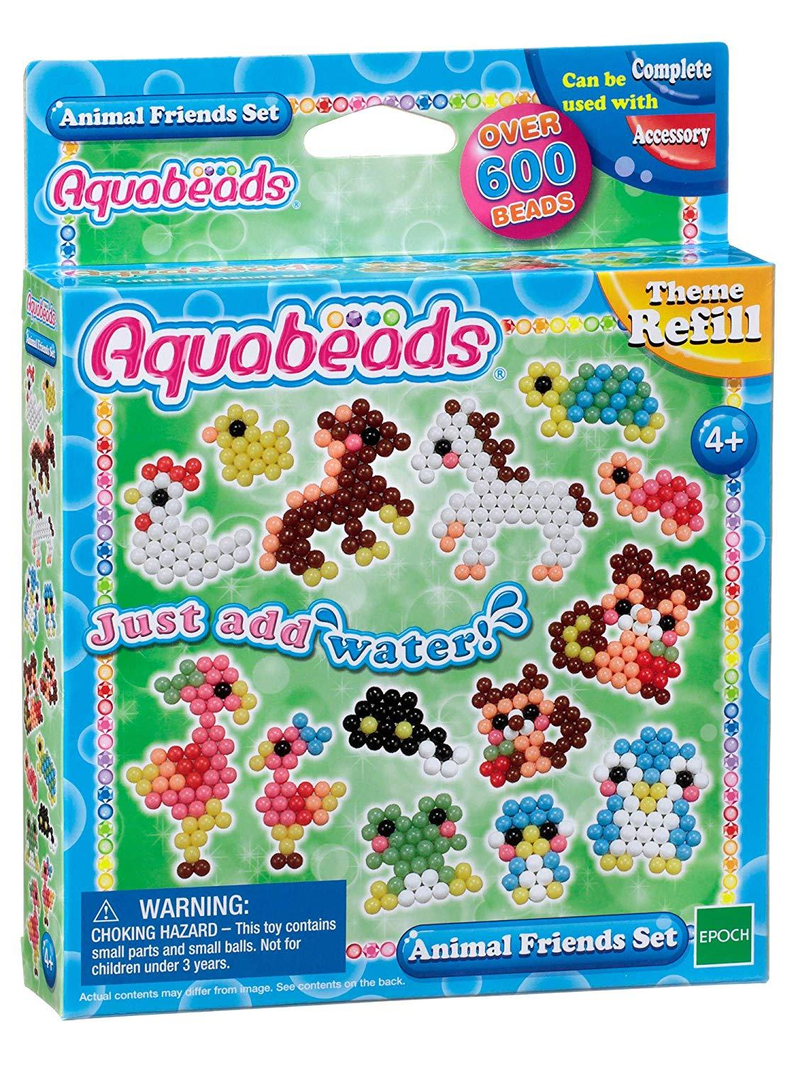 Aquabeads refill animal set bead pack (79298)