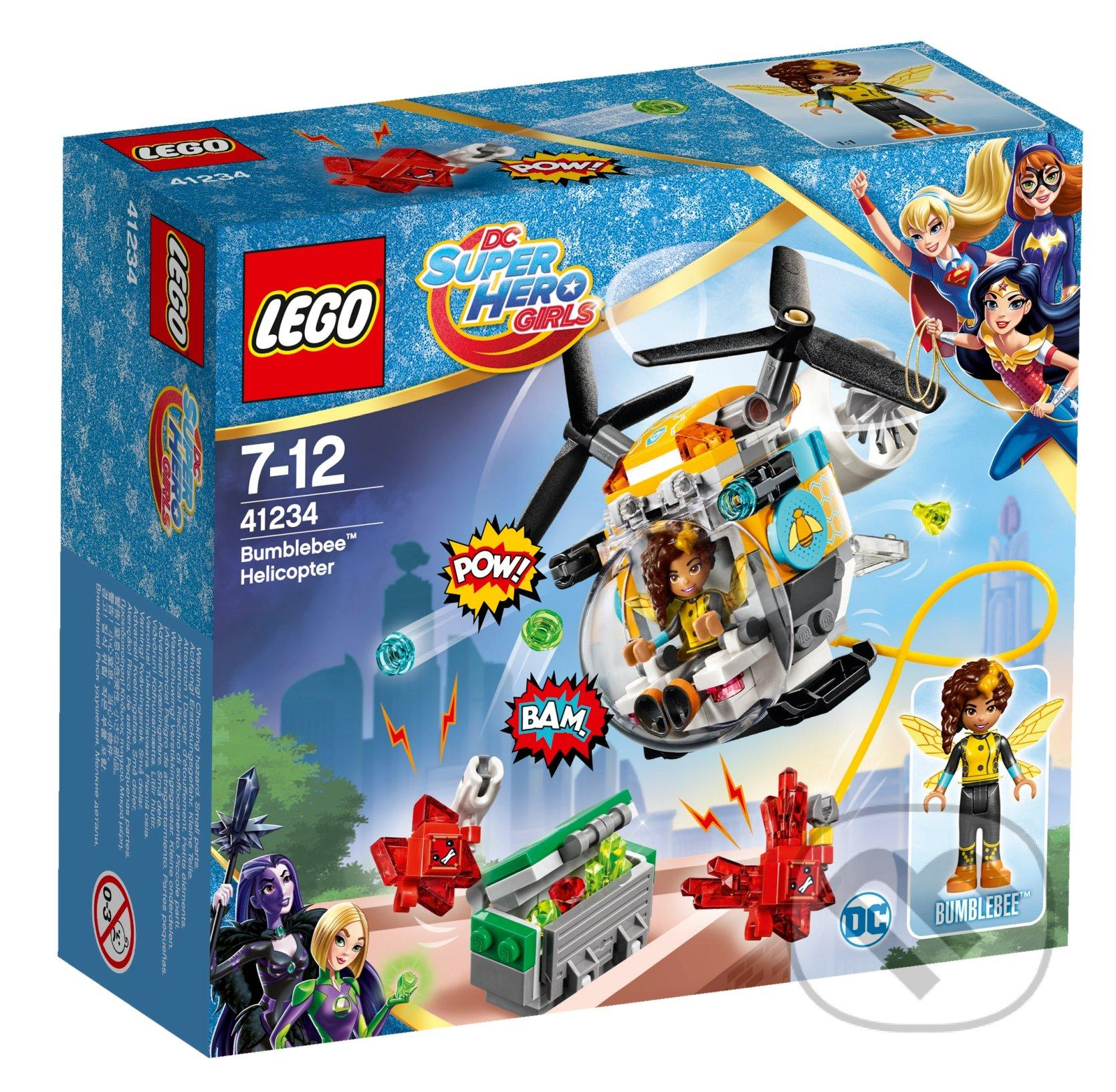 Lego DC Super Hero Gilrs Bumblebee Helicopter