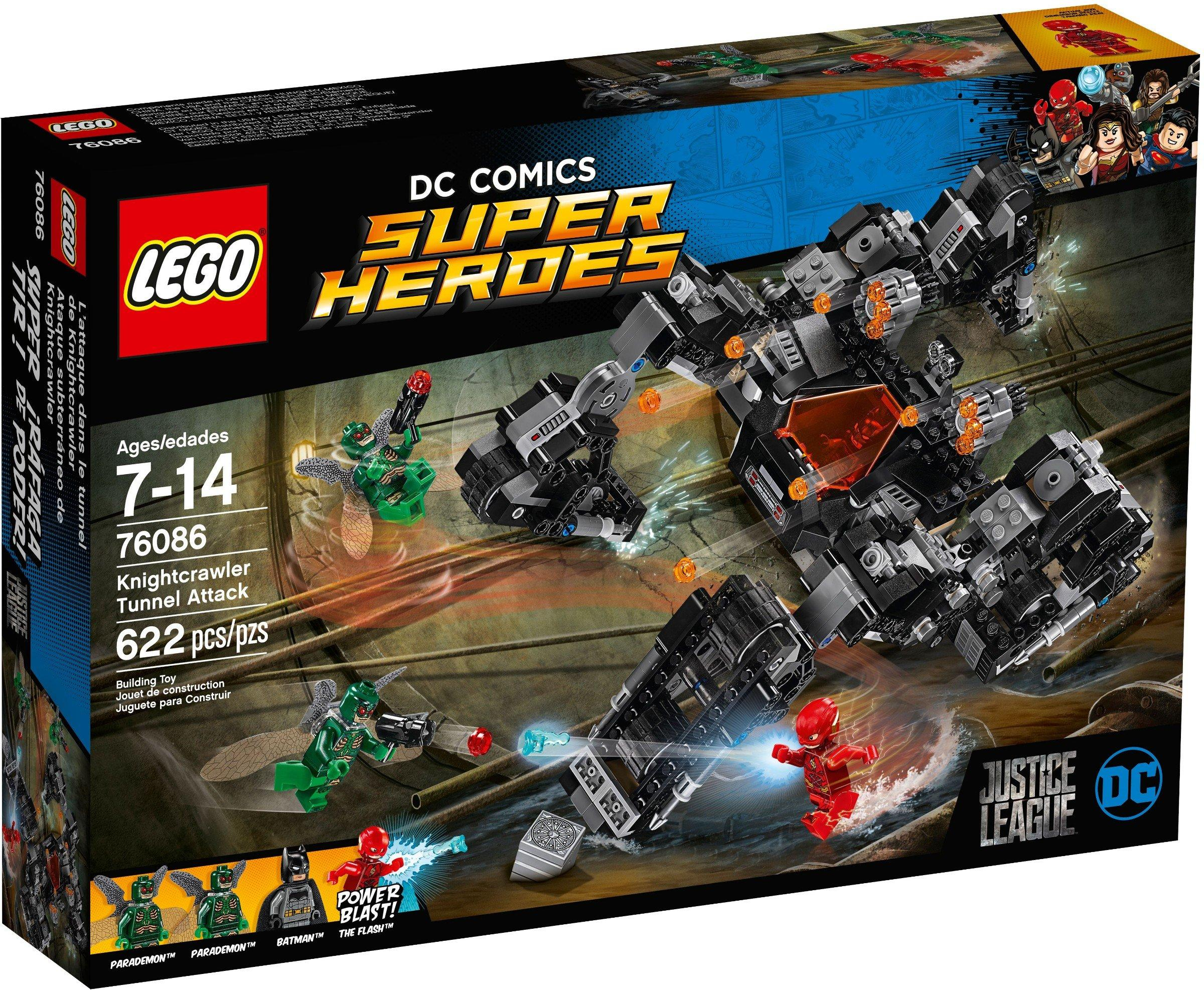 Lego Super Heroes Knightcrawler Tunnel Attack Au7 (76086)