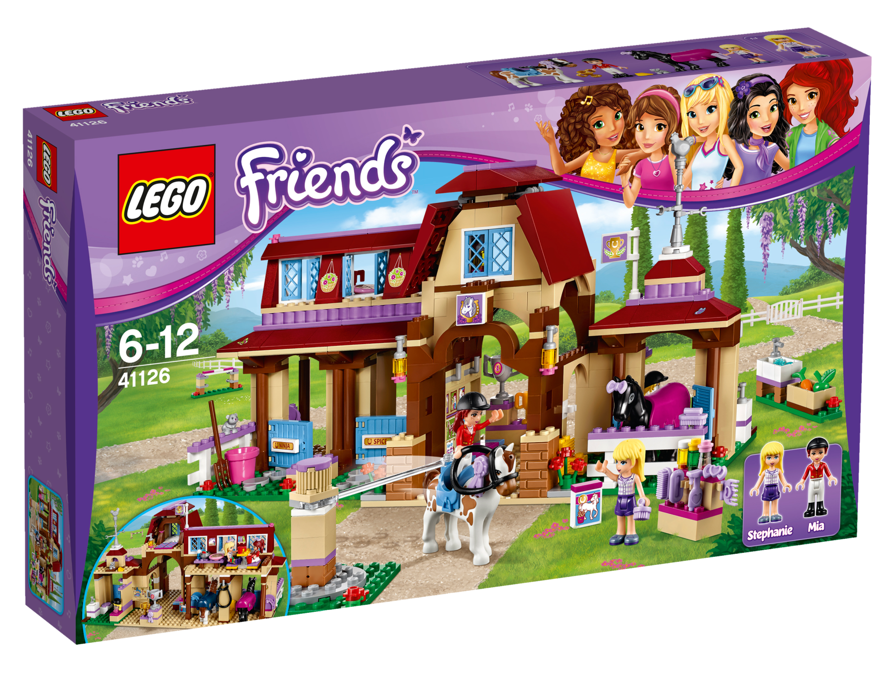 Lego Friends Heartlake Riding Club (41126)